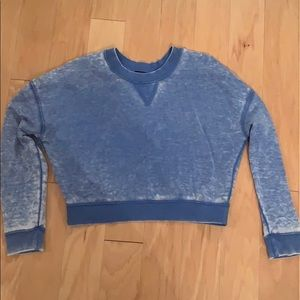 Top shop cropped crew neck